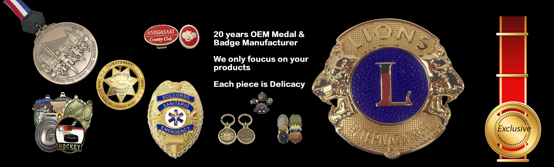 China factory to make metal medals,Challenge coins, Lapel